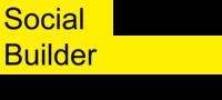 Logo social builder avec mention  mixit    num rique  noire